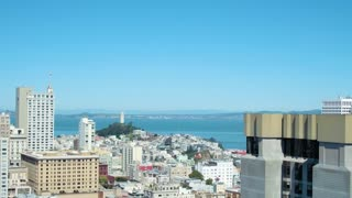 San Francisco's Coit Tower and Bay