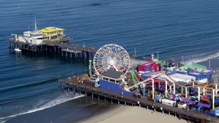 Santa Monica Pier and Ferris Wheel