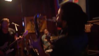 Saxophone Player, Bourbon Street Band