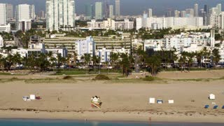 South Beach Miami by Aerial Drone