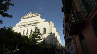 St Louis Cathedral, Back Exterior Along Street