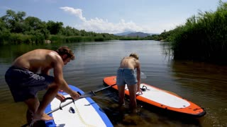 Stand Up Paddle Boards Enter the Salt River
