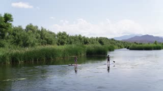 Stand Up Paddle Boards on the Salt River