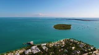Tropical Island and Beach City