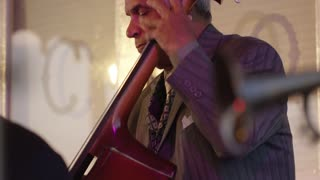 Upright Bass Player, New Orleans Riverboat Cruise