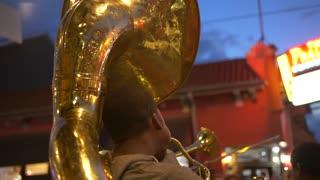 Young Street Musicians on Bourbon Street