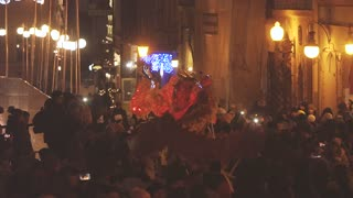 Dragon Procession Night City