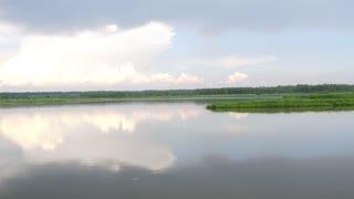 Flight Over the River in Ukraine, Zhytomur