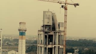Industrial Factory big city