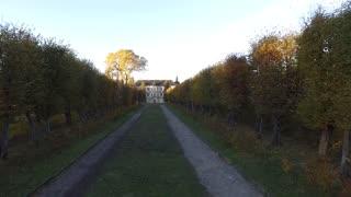 Pidhirtsi castle in Ukraine. Zolochiv Aerial Video