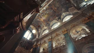 Architecture garrison temple Church in Ukraine