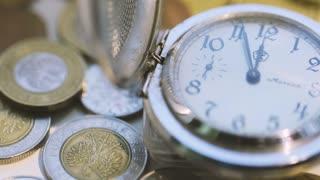 Old Pocket Watch Open