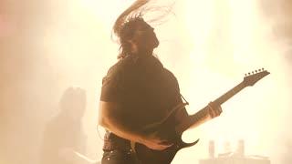 Rock Guitarist Playing on Electric Guitar