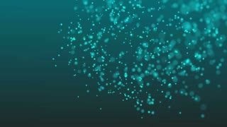 Abstract particle seamless background