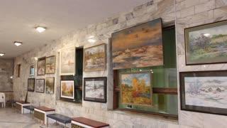 Art gallery in Russia