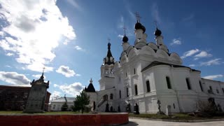 Orthodox Church against the blue sky