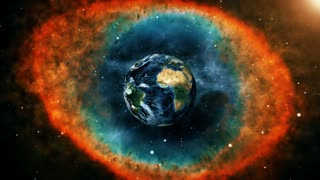 Travel Between Galaxy in Deep Space 4k