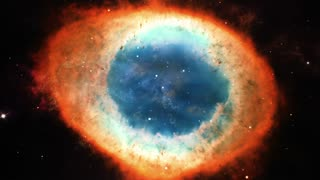 Travel in Nebula in Deep Space 4k