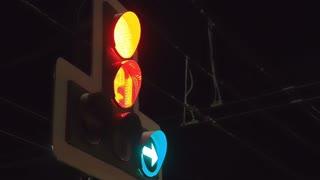 Traffic Light on the Street FullHD