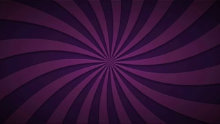 Footage animated background of rotating beams. loopable 4k video.