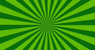 animated background of green rotating beams