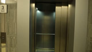 beautiful man Elevator