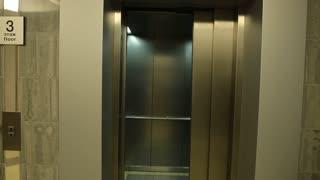 beautiful man Elevator