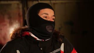 Girl Dress helmet for motorcycle