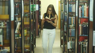 two students was found in the College library and discuss books