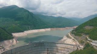 Enguri dam, hydro power plant