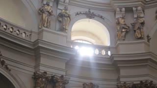 Amazing church in Lviv close up