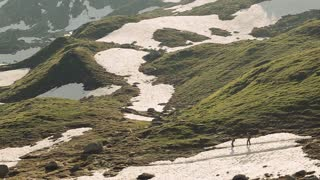 Beautifull Alps and goregous nature with people
