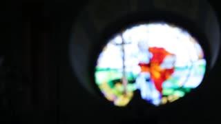 Beautifull church inside close up