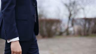 groom goes burying his pocket