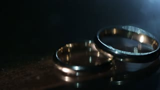 Nice rings close up of them