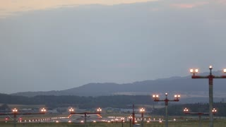 take off passenger planes