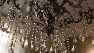 Very beautifull brilliant lamp close up