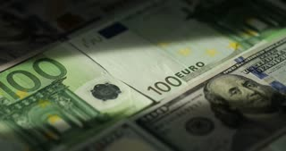 Money And Financials. Cash-Tax, Taxes, Debt, Spending, Credit. Closeup Rotation