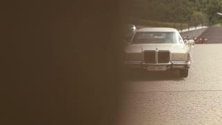 Wedding car before the wedding