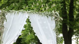 Wedding Flower Arch Decoration in the park