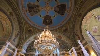 Wedding in a chapel
