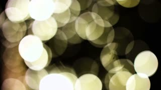 Abstract blur golden and yellow bokeh lighting from glitter texture