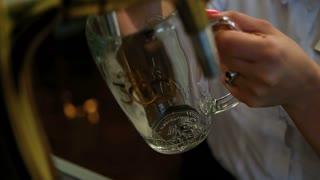 Bartender Pouring Draft Beer