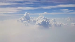 Aerial Clouds Background Shot 1