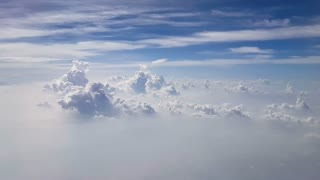 Aerial Clouds Background Shot 2
