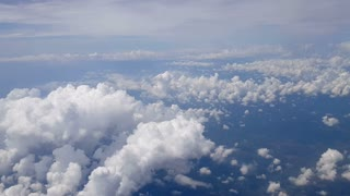 Aerial Clouds Background Shot 4
