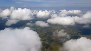 Aerial Clouds Background Shot 6