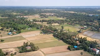 Aerial Landing Background Shot 9