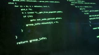 Computer Code Green