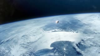 Earth From Space with Ship C